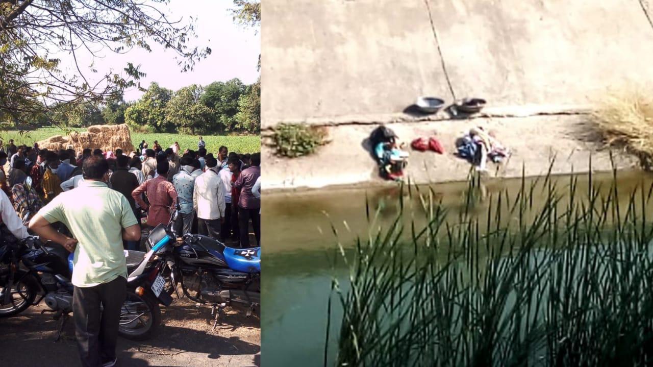 #Vadodara - નર્મદા કેનાલમાં કપડા ધોવા ગયેલી બે કિશોરીઓ તણાઇ