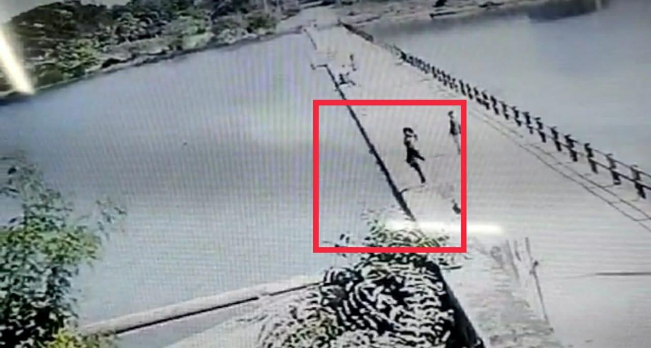 ગોંડલનાં ડેમમાં પડતું મૂકી યુવતિનો આપઘાત, ઘટના CCTVમાં કેદ થતા લાઈવ દ્રશ્યો સામે આવ્યા, જુઓ
