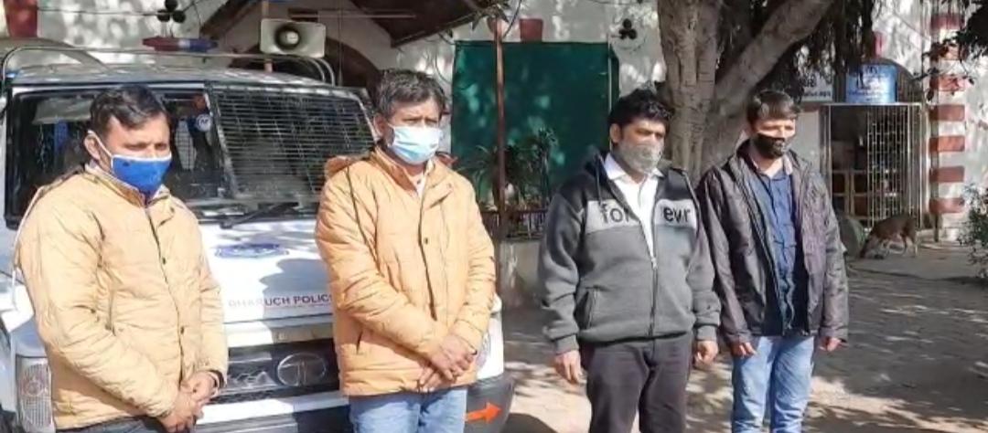 #Bharuch - મારામારી બાદ વકીલના મોતના મામલે આખરે 4 આરોપીની ધરપકડ