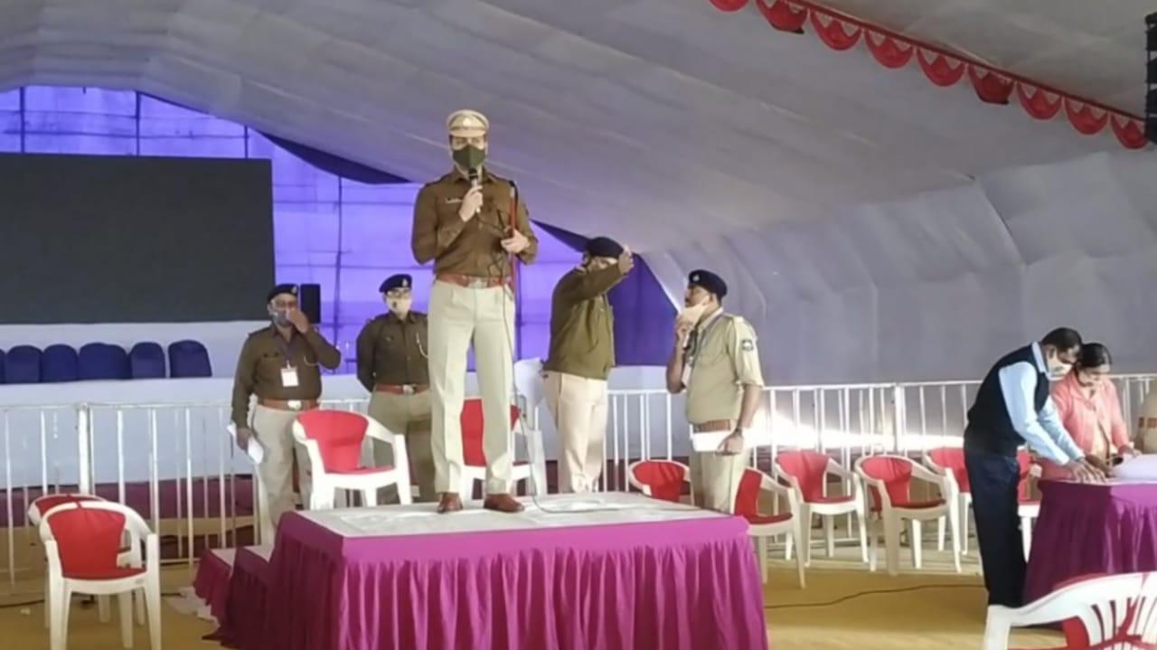 #Rajkot - PMનાં હસ્તે થનાર એમ્સના ખાતમુહૂર્તનું કાઉન્ટડાઉન શરૂ, કલેક્ટર-પોલીસ વડાએ કર્યું તૈયારીનું નિરીક્ષણ