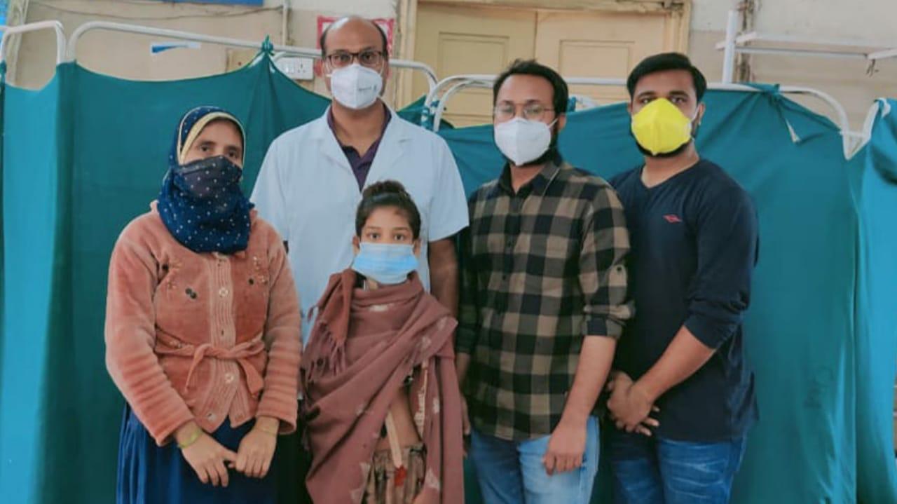 #Ahmedabad - 11 વર્ષની આસ્મા હલન-ચલન પણ નહતી કરી શકતી, સિવિલના તબીબોએ સર્જરી કરી જીવન પૂર્વવત કર્યુ