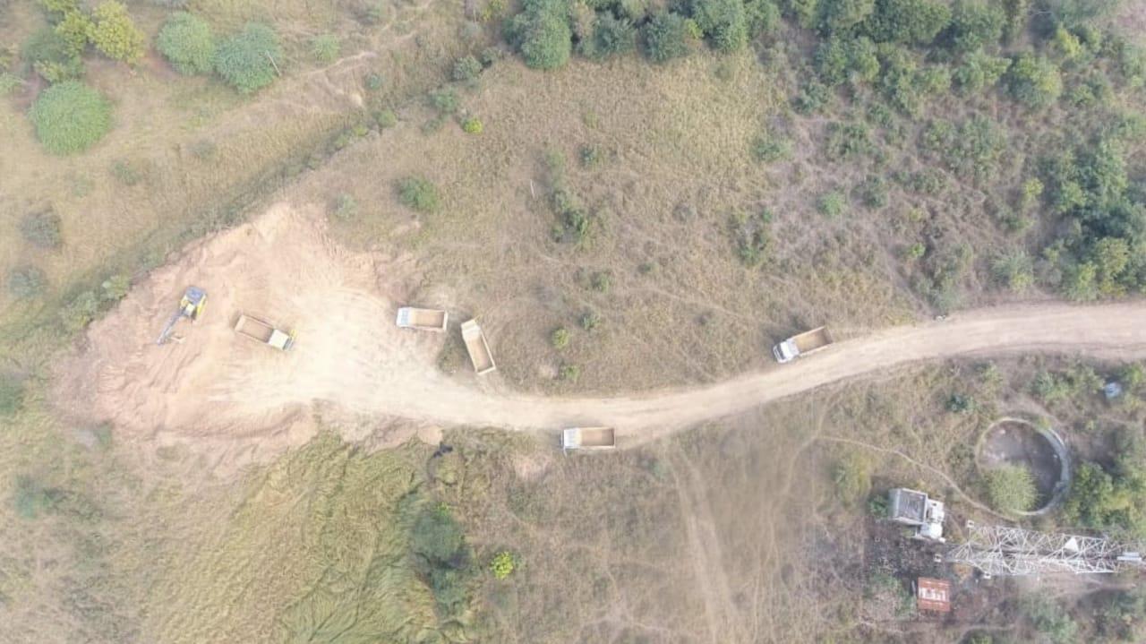 #Vadodara - ડ્રોન સર્વેલન્સના ઉપયોગથી તાલુકામાં થતી માટી ખનન અને વહનની ગેરરીતિ ઝડપાય