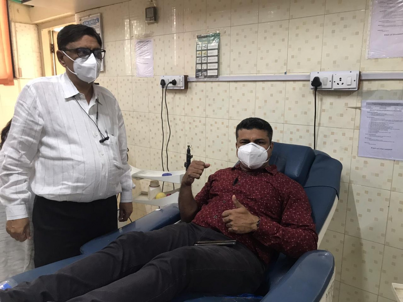 #Surat - રક્તદાન મહાદાનના સુત્રને સાર્થક કરતા સિવિલ હોસ્પિટલના 'કર્મયોગી' સિક્યુરિટી ગાર્ડ