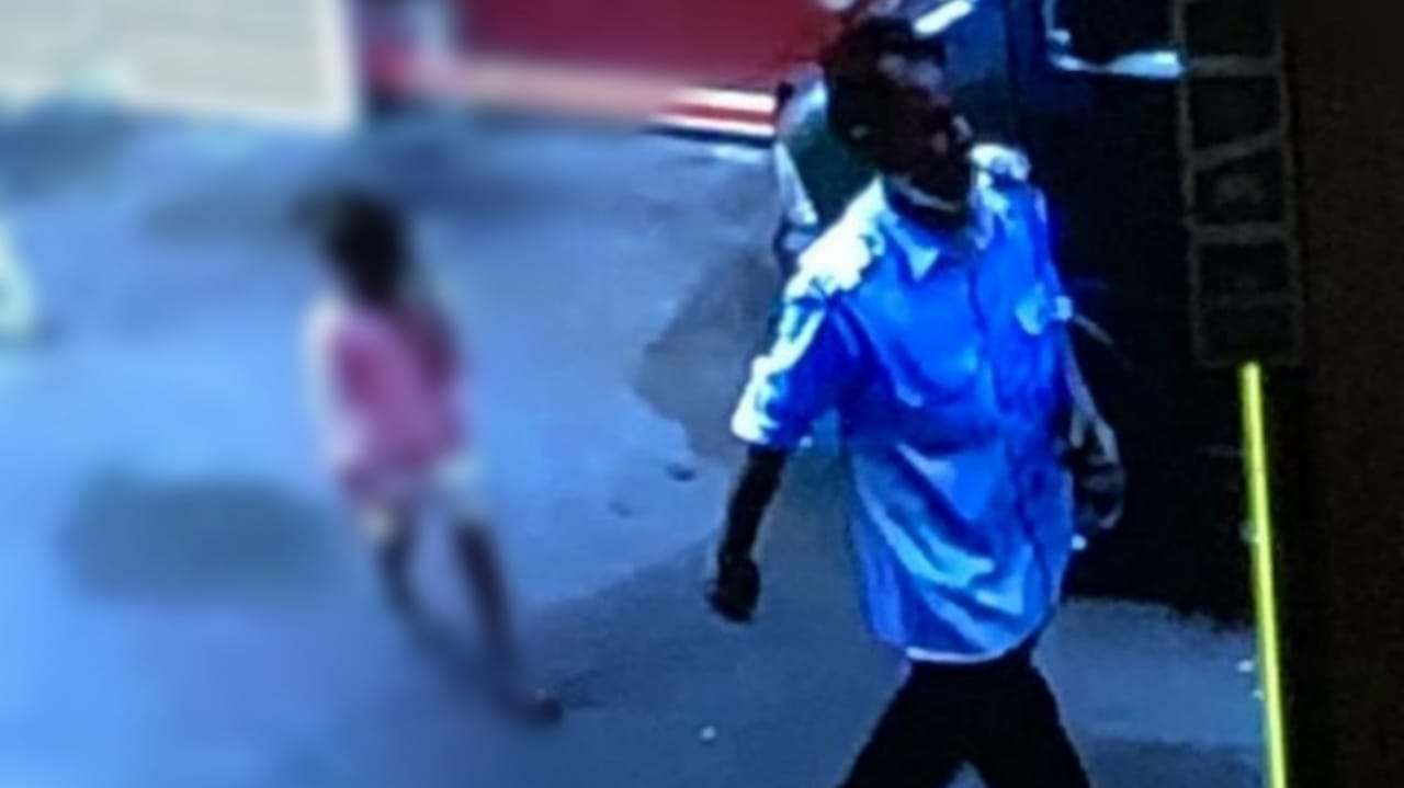Gujarat, Surat incident captured in CCTV