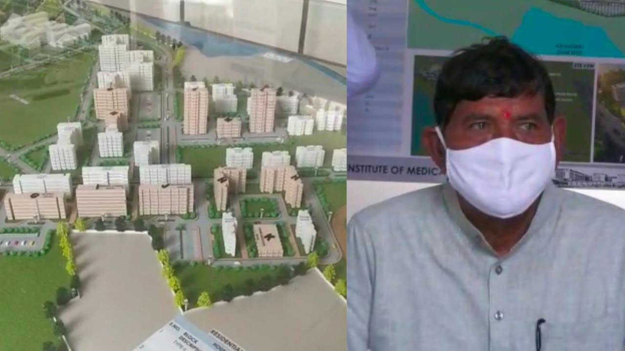 Gujarat, MP Mohan Kundariya visit Rajkot AIIMS