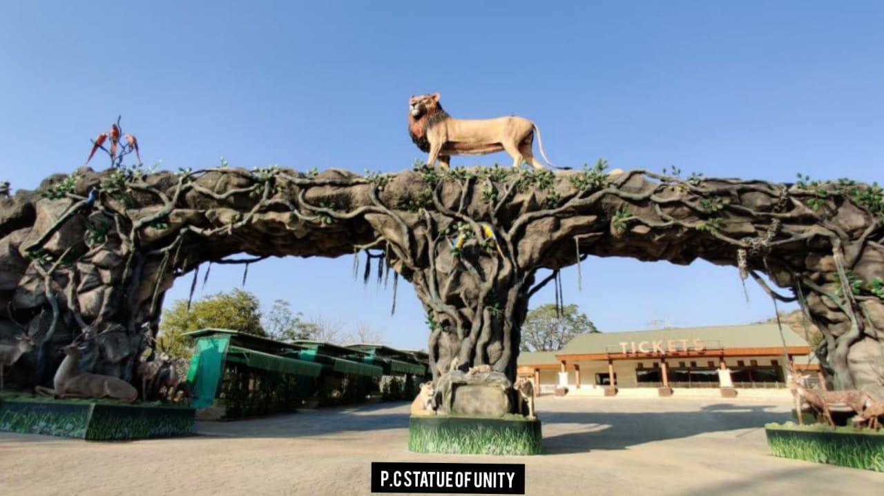 Statue of Unity, Jungle safari