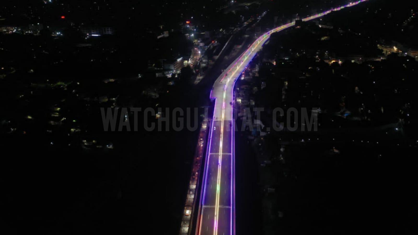 Gujarat newly inaugrated Narmada maiya bridge