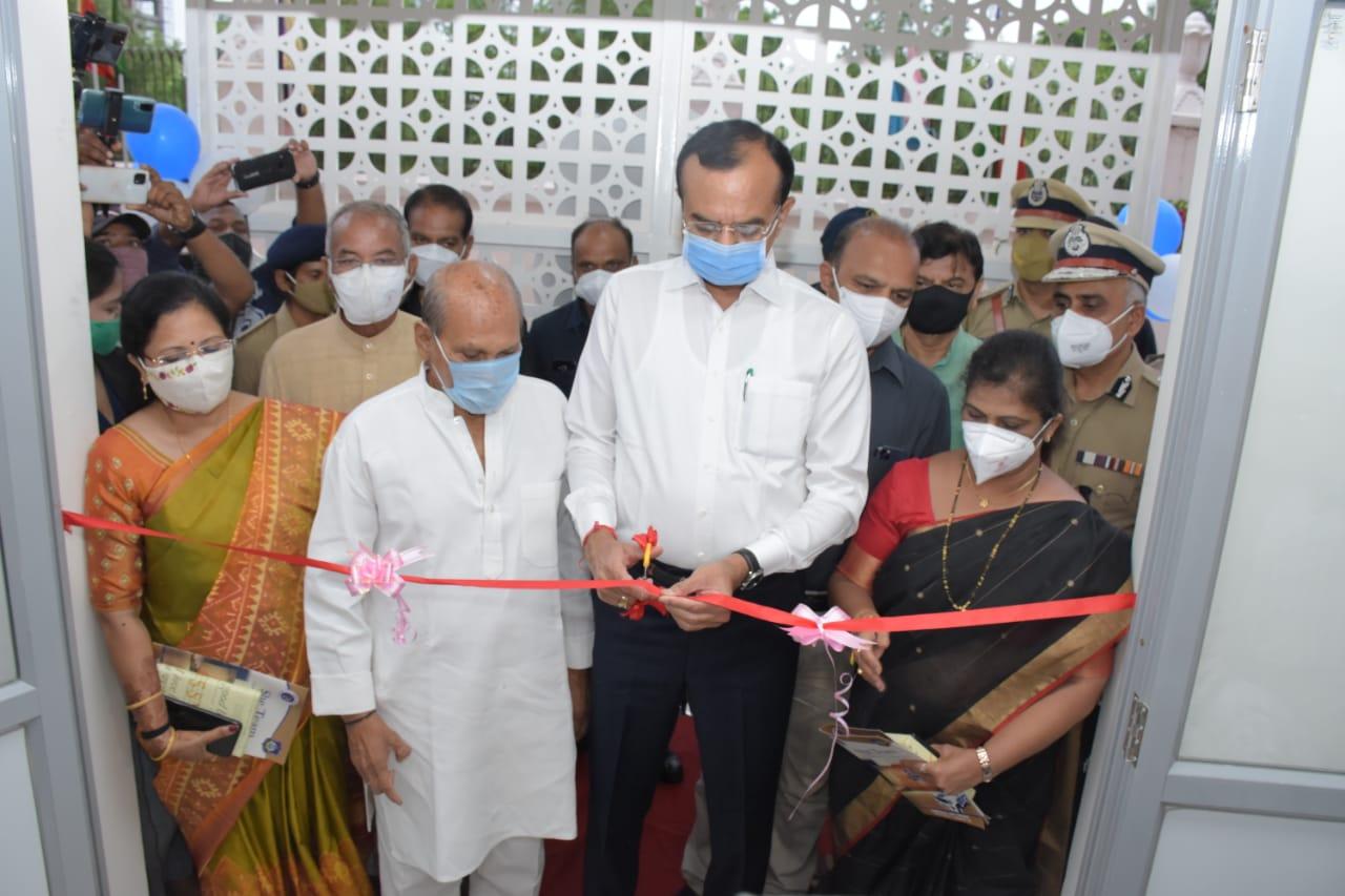 Gujarat Home Minsiter Pradipsinh Jadeja